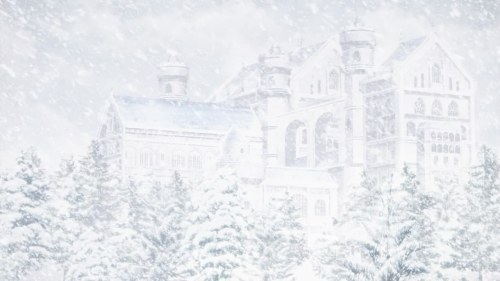 Fate/zero snowy castle