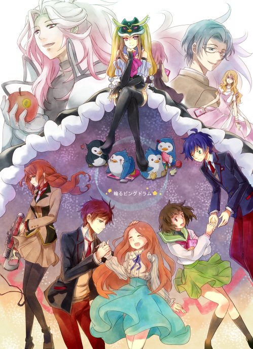 Mawaru Penguindrum art