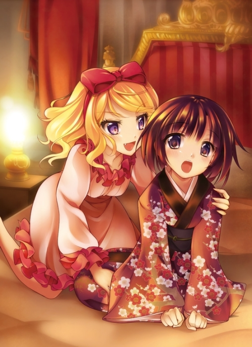 Alice and Yune-chan!