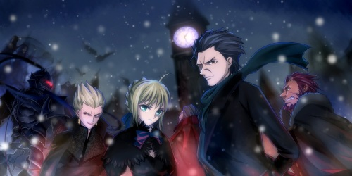 The seven servants.