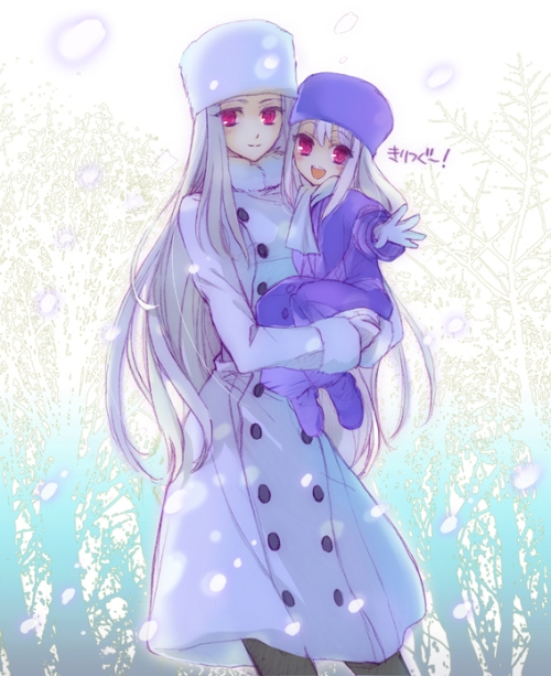 Irisviel and Illyasviel