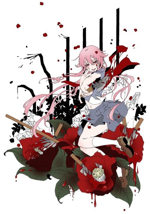Bloody Gasai Yuno.